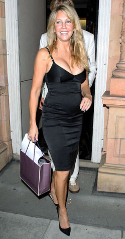 Heather Locklear, 49, Steps Out in Skin-Tight, Cleavage-Baring Dress