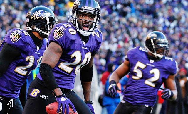 Even as his career winds down, Ed Reed remains one of the league's best safeties. (Getty Images)